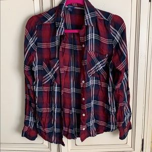 Forever 21 Button Up Long Sleeve